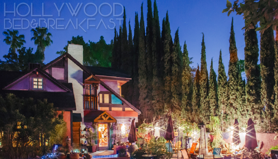 Hollywood Bed & Breakfast Graphic Photo